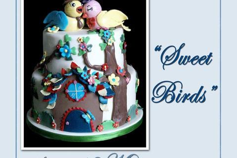 """Corso Base di Cake Design e Modelling <strong>Artea</strong> """"Sweet Birds"""""""