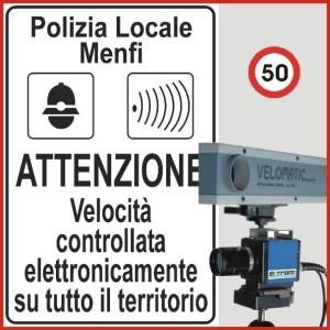Autovelox a Menfi per contrastare comportamenti pericolosi e l'alta velocità