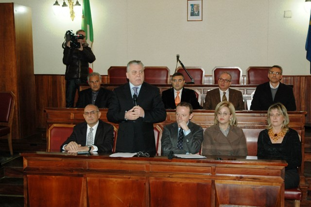 <strong>Provincia di Agrigento</strong>: Il presidente D'Orsi richiama la sua Giunta