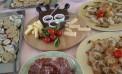 Menu verde a <strong>&#8220;La Rosada&#8221;</strong> pranzo con verdure spontanee