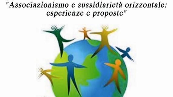 """<strong>Convegno</strong> """"Associazionismo e sussidiarietà orizzontale: esperienze e proposte"""""""