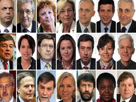 <strong>Governo Letta</strong>, tutti i ministri: Interni a Alfano, Esteri a Bonino, Giustizia a Cancellieri