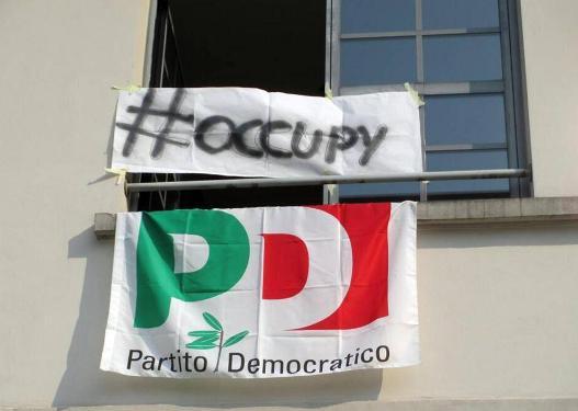 """<strong>""""OccupyPd"""" in Sicilia</strong>. Oggi manifestazioni in 9 città: """"No a inciuci col Pdl, apriamo ai grillini"""""""