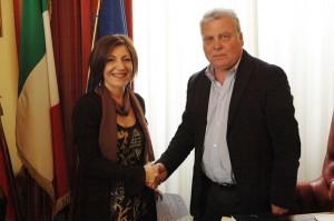 Valentina Palumbo con Eugenio D'Orsi