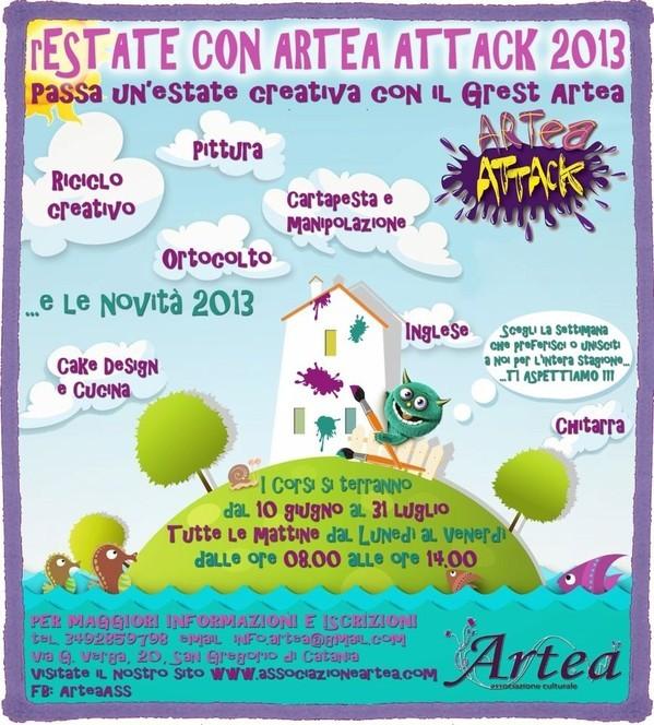 rEstate con <strong>Artea</strong> Attack 2013_Il Grest Estivo Artea