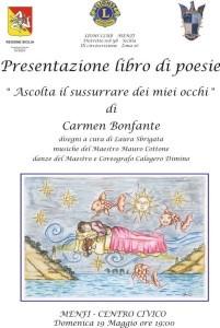 Carmen Bonfante Ascolta il sussurrare dei miei occhi