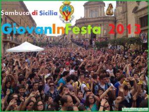 Giovaninfesta 2013 Sambuca di Sicilia