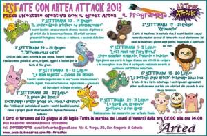 Grest estivo rEstate con Artea Attack 2013