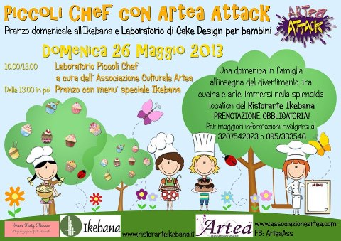 Piccoli chef con <strong>Artea</strong> Attack