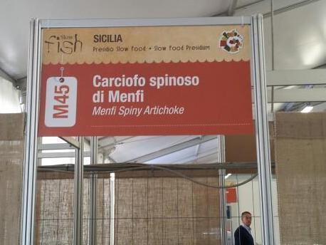 I carciofi spinosi di Menfi allo <strong>Slow Fish</strong> di Genova