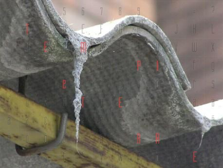 <strong>L'amianto</strong> sarà bruciato e trasformato in materiale edile