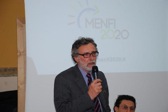 Comizio di apertura del candidato a Sindaco di Menfi, <strong>Enzo Lotà</strong>