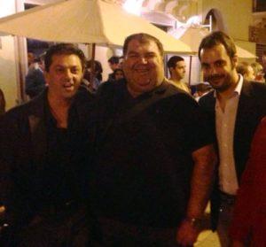In foto da sinistra: Ludovico Viviani, Saverio Ardizzone e Saverio Milici