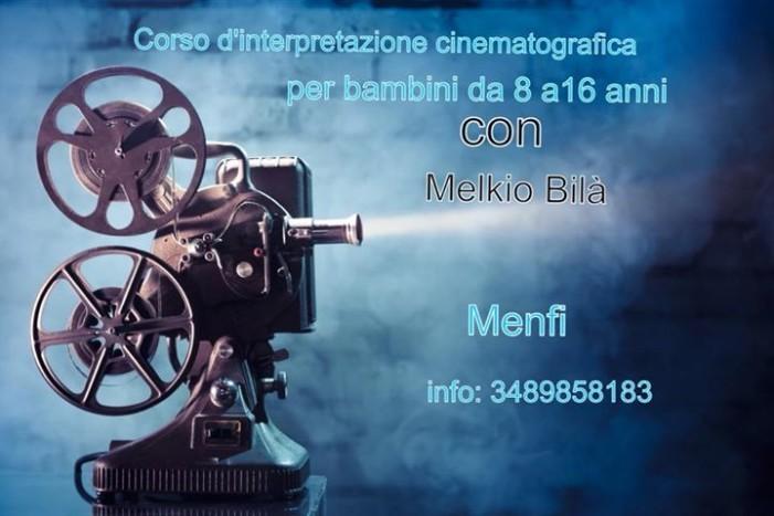 <strong>Menfi</strong>. Corso d'interpretazione cinematografica per bambini