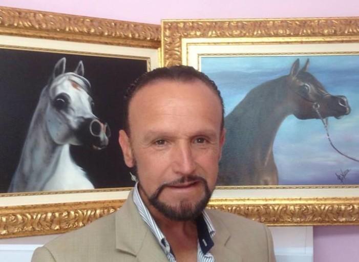 <strong>Pippo Vaccaro</strong> raffigurerà i migliori cavalli arabi