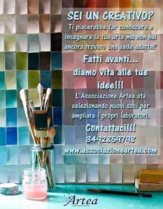 Selezione collaboratori Associazione Culturale Artea