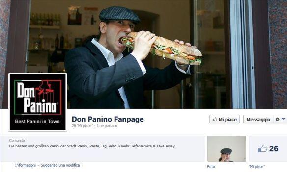 """Con <strong>Don Panino</strong> ho inventato un brand, amo l'Italia"""