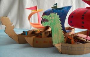 Nave di Cartone - Laboratorio creativo per bambini