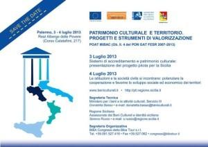 Palermo evento Patrimonio culturale