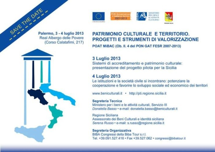 <strong>Palermo</strong>. Patrimonio culturale e territorio. Progetti e strumenti di valorizzazione