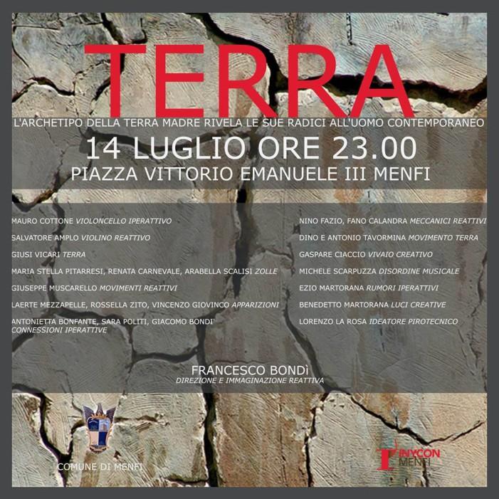 """<strong>Menfi</strong>: Spettacolo """"TERRA"""" di F. Bondì per Inycon"""