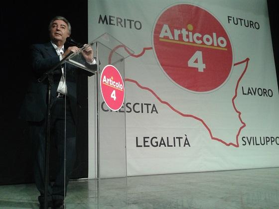<strong>Cascio passa con Leanza</strong> (Articolo 4): scambio d'insulti con Saverio Romano