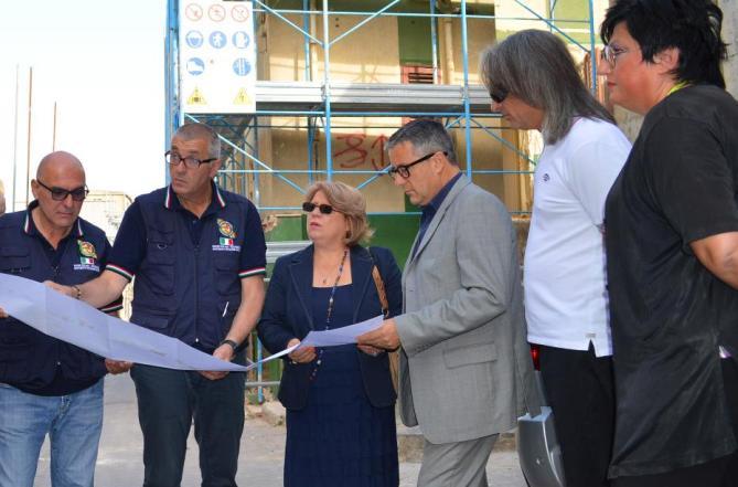 <strong>Naro</strong>, Lo Bello apre il cantiere per la demolizione di 24 case pericolanti nei luoghi della frana