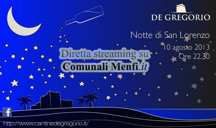 La notte di San Lorenzo alle <strong>Cantine De Gregorio</strong>
