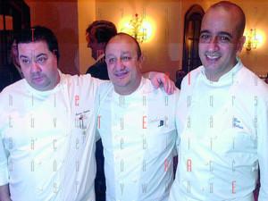 Ciccio Sultano, Pino Cuttaia e Massimo Mantarro