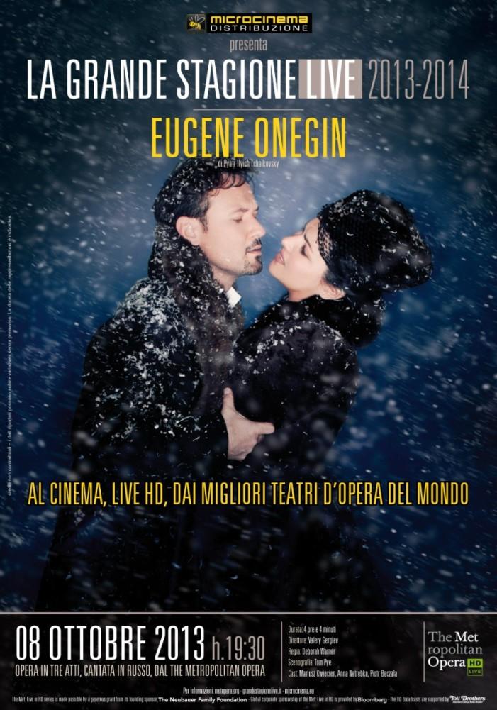 <strong>Eugene Onegin</strong> dà il via alla Stagione dell'Opera al Cinema