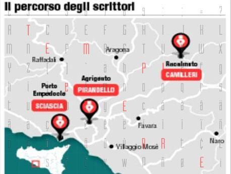 Pirandello, Sciascia, Camilleri: <strong>nasce la strada degli scrittori</strong>
