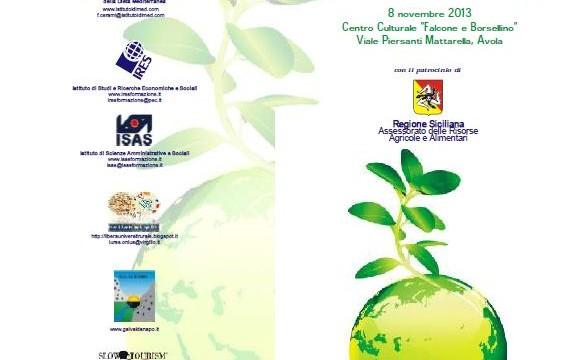 """<strong>""""Aspettando l'Expo 2015: Identità, Salute e Sviluppo""""</strong> tappa di Avola"""