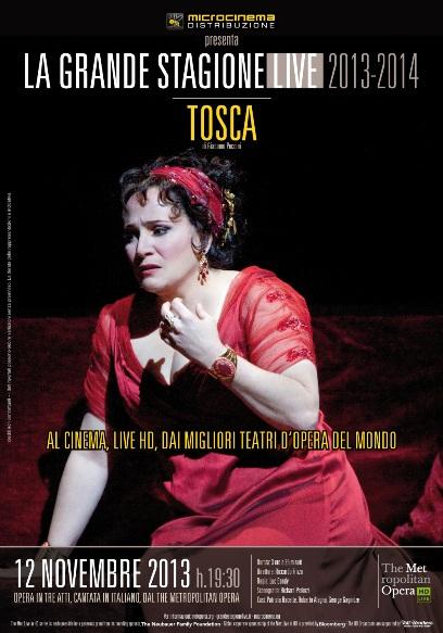 <strong>La Grande Stagione Live</strong>: TOSCA arriva al cinema Badia Grande di Sciacca