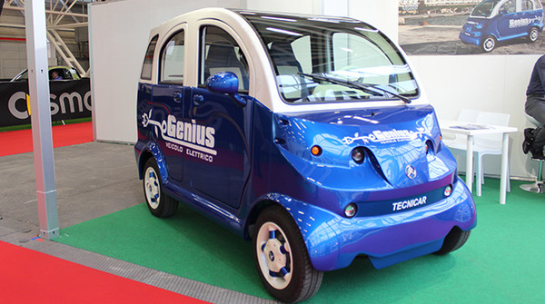 <strong>Genius</strong>: l&#8217;auto elettrica made in Sicilia