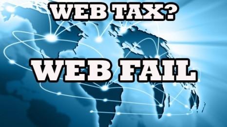 Grillo e Renzi uniti nel <strong>NO alla Web tax</strong>