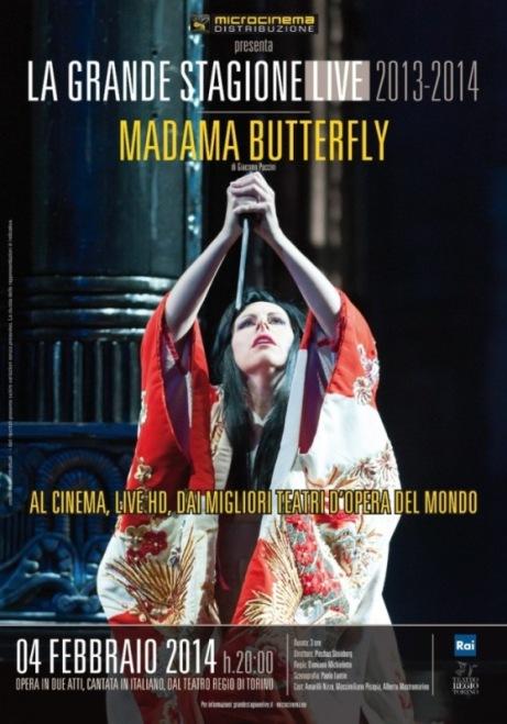 Madama Butterfly di Puccini in diversi cinema della Sicilia