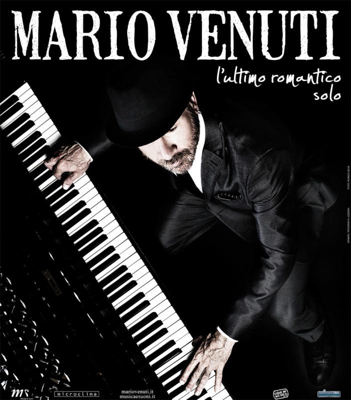 Grande successo per Mario Venuti al Teatro L'Idea di Sambuca di Sicilia