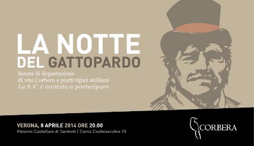 """""""La Notte del Gattopardo"""", a Verona il Gala Dinner delle Cantina Corbera"""