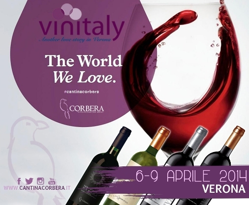 Cantina Corbera, dal 6 al 9 aprile, al Vinitaly 2014