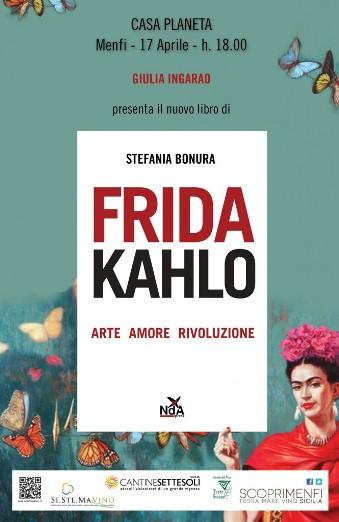 """Giulia Ingarao presenta il libro """"Frida Kahlo"""""""