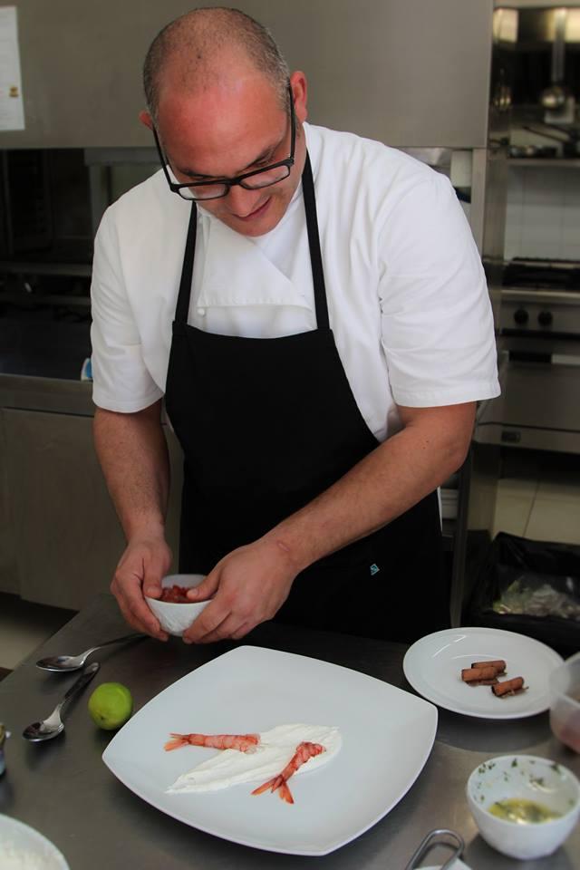 """I nuovi piatti dello chef <strong>Angelo Franzò</strong> al """"Cave Bianche Hotel"""" di Favignana"""