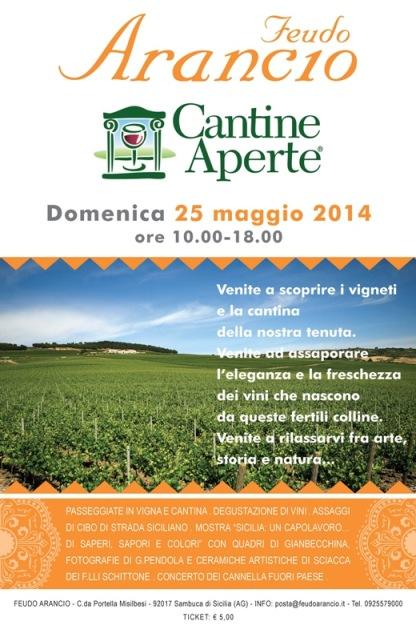 Cantine Aperte 2014 da <strong>Feudo Arancio</strong>