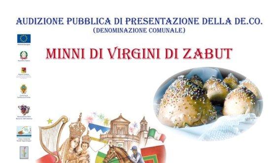 Sagra delle Minni di Virgini De.Co. a Sambuca di Sicilia