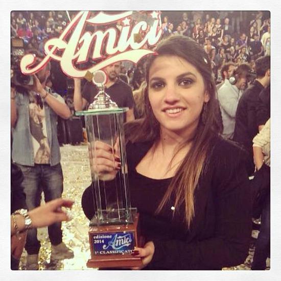 La ragusana <strong>Deborah Iurato</strong> è il vincitore di Amici 2014