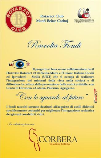 <strong>Inycon</strong>: Corbera e Rotaract Club Menfi Belice Carboj a favore della UICI
