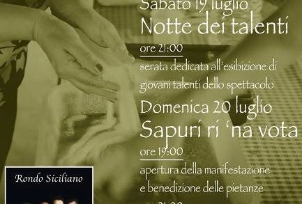 <strong>Caltagirone</strong>. Tornano i Sapuri rì &#8216;na vota
