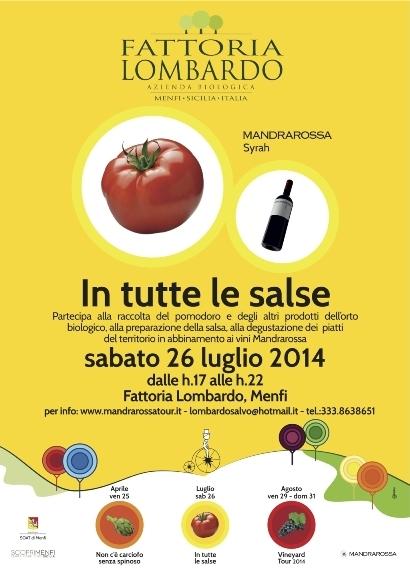 "<strong>Mandrarossa Tour 2014</strong>: ""In tutte le salse"" 26 luglio a Menfi"