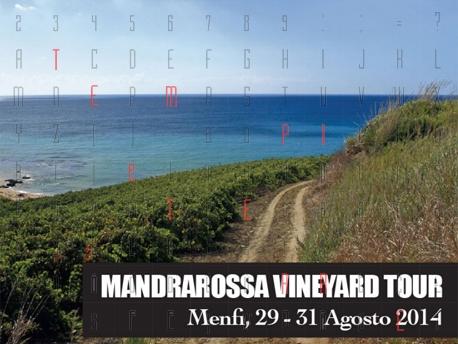 La nuova edizione di <strong>Mandrarossa Vineyard Tour</strong>, dal 29 al 31 agosto