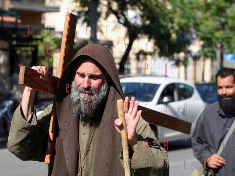 La Via crucis di <strong>Biagio Conte</strong>