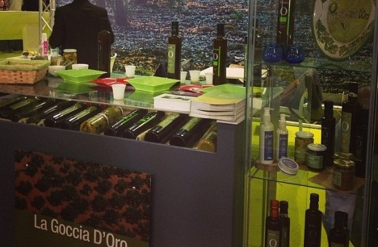 LA GOCCIA D'ORO all'Expo di Milano